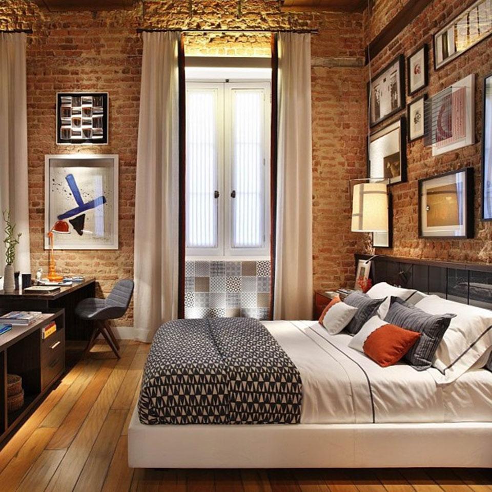 estilo-industrial-paredes-de-tijolo