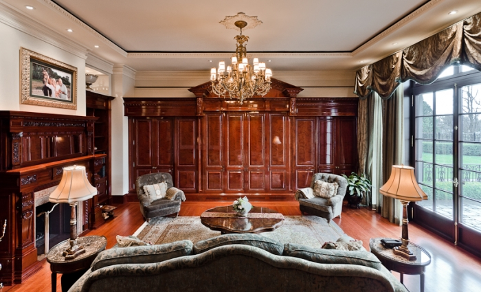 Sala de estar classsica