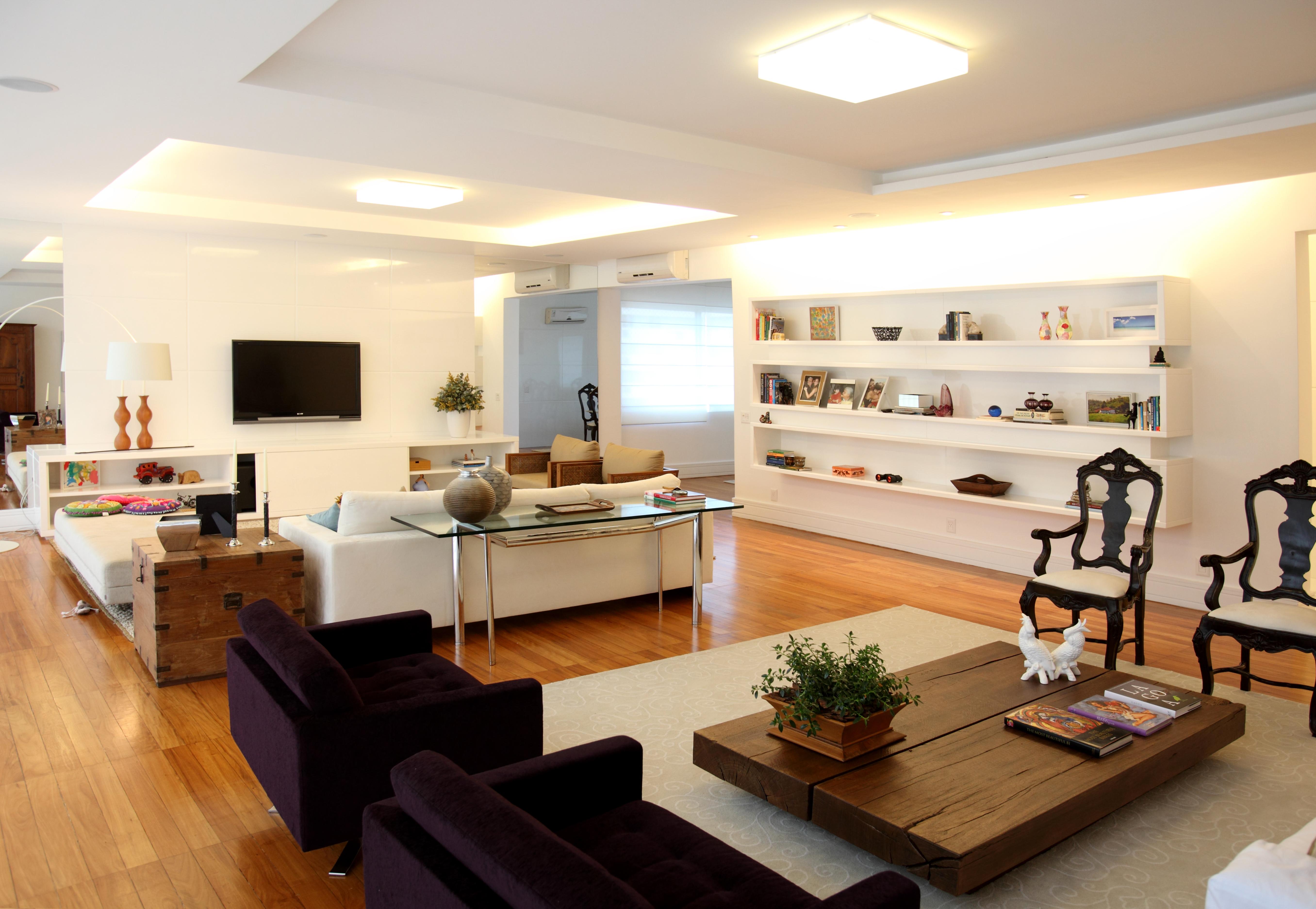 Encontre o seu estilo de decora o garimpo for Sala estilo contemporaneo