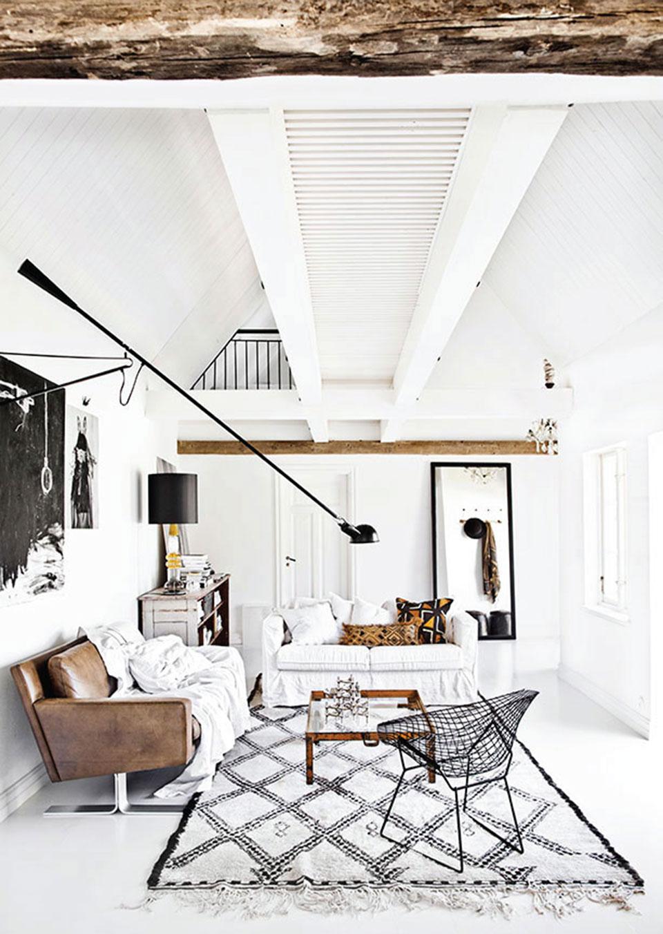 paredes brancas-moveis-aconchego-industrial-luminárias- tapetes-decoração1